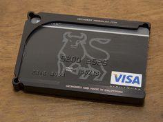 Cool new Aluminum Minimalist Wallet