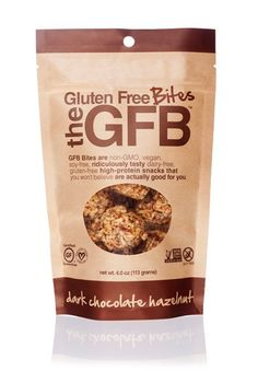 Re-Pin By @siliconem -  Dark Chocolate Hazelnut GFB Bites (4 oz. bag)