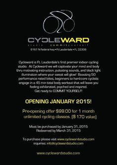 #GrandOpening #Cycleward #SpecialDeal #Cycle #Fitness