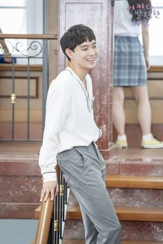 """Kim Young Dae Praises Rowoon + Dishes On """"Extraordinary You"""" Cast's Group Chat Drama Korea, Korean Drama, Asian Actors, Korean Actors, Kim Ro Woon, Mbc Drama, Kim Young, Ulzzang Korean Girl, Scene Image"""