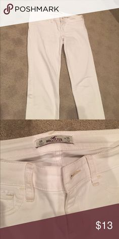 White Jeans Skinny fit Hollister Jeans Skinny