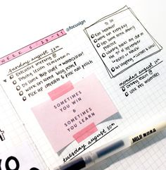 Add colour with fun quotes/ideas on colourful paper