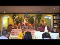 Bát Quan Trai Giới Ngày 1/3/2015. Sư Sán Nhiên . Chùa Tường Vân Mass - YouTube