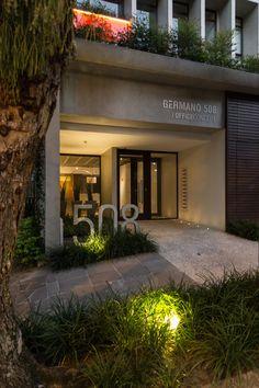 Entrada do prédio Germano 508. Projeto Smart! Lifestyle + Design. Fotos: Marcelo Donadussi