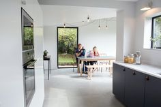 kitchen/diner - side extension, remodelling + re-cladding - One, The Spinney - Vale of Glamorgan, South Wales - Blee Halligan - 'Ugly House to Lovely House' -