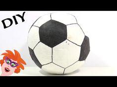 Voetbal surprise knutselen voor Sinterklaas - Juf Jannie leren met kinderen