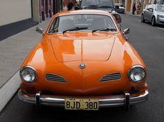 Volkswagon Karman Ghia (1974) Porsche gt roadster little cousin.