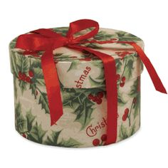 Merry Christmas holly box
