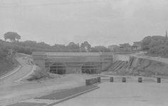 Av. 9 de julho -  Construção do Túnel - 1939