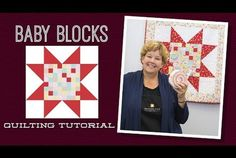 """Make a """"Baby Blocks"""" Quilt with Jenny"""