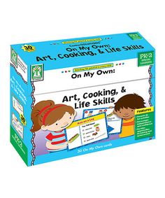Look what I found on #zulily! On My Own: Art, Cooking, & Life Skills Activity Card Set by Carson Dellosa #zulilyfinds