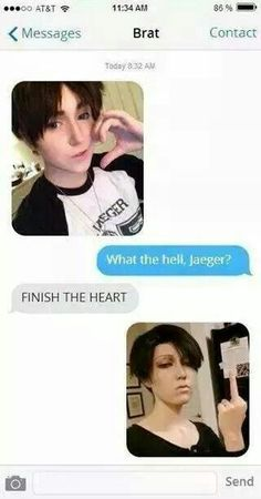 Attack on Titan Cosplay - Levi Ackerman and Eren Jaeger Cosplay Meme, Snk Cosplay, Best Cosplay, Awesome Cosplay, Ereri, Anime Meme, Anime Manga, Eren E Levi, Armin