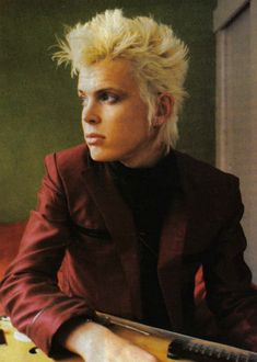 A very young Billy Idol