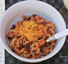 Your family will LOVE this Tex-Mex Style Macaroni & Cheese! So delicious!! #recipes #dinner #healthy #skinnyms