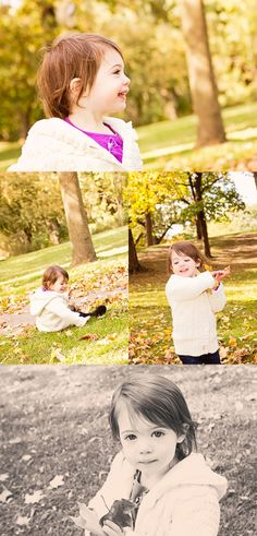 Fall Photo Session 2 Year Old Girl  - Deanne Mroz Photography