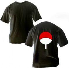 Camisa Naruto - Clã Uchiha - Acesse > Buscamisas - A loja de anime agora ainda mais perto de você!!