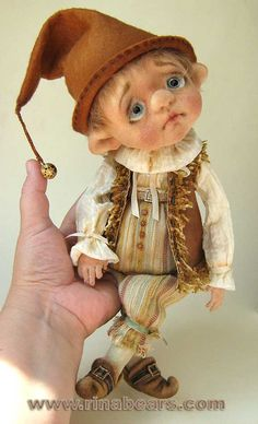 Авторская игрушка Рины Буше