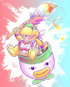 Bowser jr. by Naaraskettu.deviantart.com on @DeviantArt