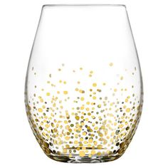 Hostess Tip: Patterned wine glasses double as practical drinkware and gallery-worthy display pieces. Try arranging a collection of these shimmering designs o...