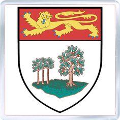 $3.29 - Acrylic Fridge Magnet: Canada. Coat of Arms of Prince Edward Island