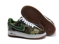 France Nike Air Force 1 Low Dunk Pour Homme Chaussures vert Marron Outlet Store