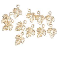 TEN 10 Ivy Leaf Charms