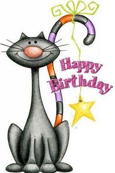 101 Funny Cat Birthday Memes for the Feline Lovers in Your Life Cat Birthday Memes, Happy Birthday Funny, Happy Birthday Messages, Happy Birthday Images, Happy Birthday Greetings, Birthday Pictures, Cat Birthday Cards, Birthday Cartoon, Birthday Cakes