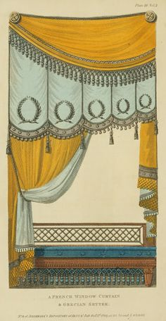 This one would probably work better for the romantic encounters. EKDuncan - My Fanciful Muse: Regency Furniture 1809 -1815: Ackermann's Repository Series 1