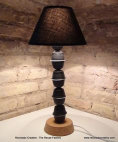 Upcycled Coffee Capsules Lamp DIY Lamps & Lights
