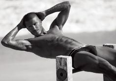 Can't get enough of David Beckham in his undies