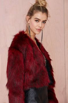 Nasty Gal Collection Rager Faux Fur Jacket - Jackets | Faux Fur | Jackets + Coats | Clothes | All | Faux Fur-ever | Cyber Monday Jackets | Clothes |  | Jackets + Coats