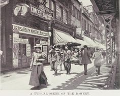 On the Bowery, 1910