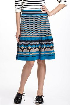 Blue Mesa Sweater Skirt #anthropologie