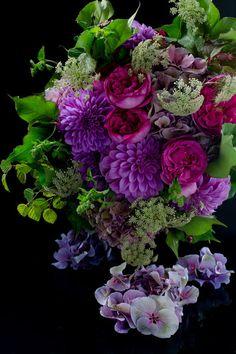 Rose & dahlia bouquet