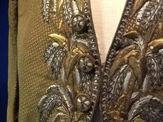18th century embroidered coat, Swiss National Museum, Zurich (photo by NK)