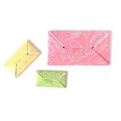 Koori Style Pull Tab Letter Folding Video Tutorial Perfect