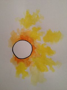 Sunrise watercolor tattoo. . . And now I want a watercolor foe around my wrist . . . Darn you marmee!!!
