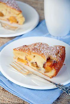 Gâteau Fondant Aux Nectarines   Moist Nectarine Cake