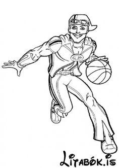lazy town coloring pages for free printable