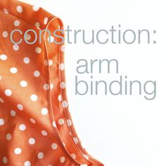 Lottie Sewalong: Construction: Arm Binding