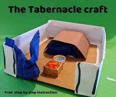 The Tabernacle - Free Bible lesson for under - Trueway Kids Bible Story Crafts, Bible School Crafts, Bible Crafts For Kids, Sunday School Crafts, Preschool Bible Lessons, Bible Lessons For Kids, Educational Activities For Kids, Bible Activities, Children's Church Crafts