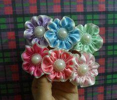 Flor doble cinta