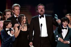 As Stranger Things won a SAG Award for Outstanding Performance by an Ensemble in a Drama Series, David Harbour read a prepared speech aloud and Winona Ryder was…surprised. | Winona Ryder Made These 22 Faces During A Speech At The SAG Awards