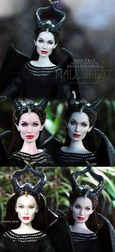 I LOVE IT!!!  ::||www.ncruz.com::|| Angelina Jolie as MALEFICENT by Noel Cruz