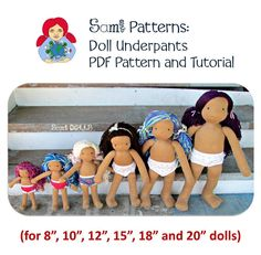 Browse unique items from SamiDolls on Etsy, a global marketplace of handmade, vintage and creative goods. Doll Clothes Patterns, Doll Patterns, Clothing Patterns, Waldorf Dolls, Etsy Seller, Knitting, Creative, Fabric, Handmade