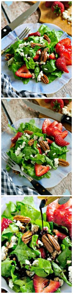 Easy and Fresh Salad with so much YUM!