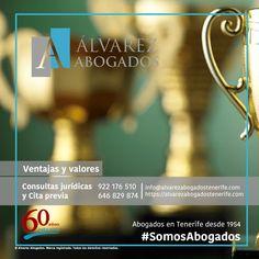Ventajas y valores en Alvarez Abogados Tenerife. ¿Por qué elegirnos? Conozca las ventas y valores de nuestros abogados. Abogados en Tenerife desde 1954. https://alvarezabogadostenerife.com/?p=5420  #Confianza #Compromiso #Eficacia #SomosAbogados #Tenerife