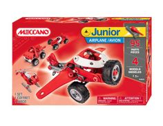 Meccano Junior 4 Model Set