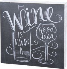 wine chalk - Google Search