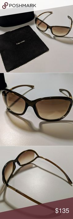 0631617319450 Tom Ford Women s Jennifer Sunglasses They are in great condition. No  scratches. - Butterfly